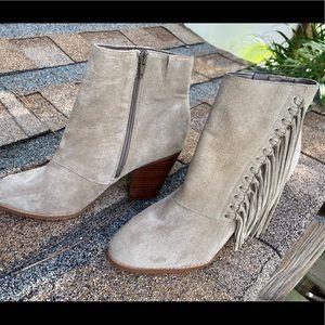 Aldo Fringe ankle boots